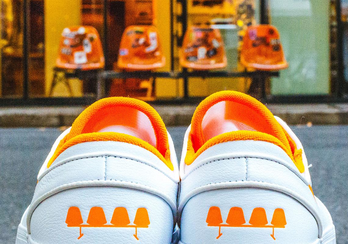 FLY Nike SB Stefan Janoski White Orange