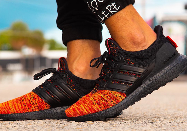 "new style abf1a d9fbd Detailed Look At The Game Of Thrones x adidas Ultra Boost ""House Targaryen"""