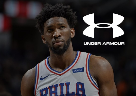 Joel Embiid Signs Five-Year Deal With Under Armour