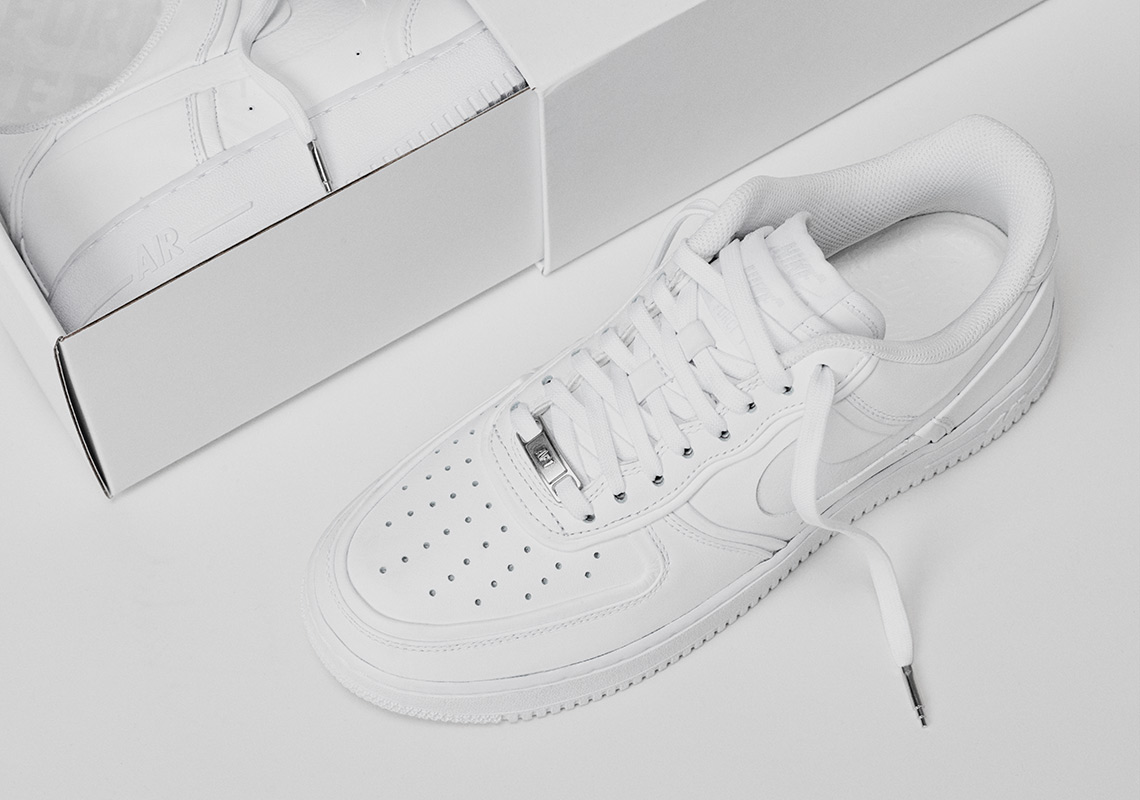 254d5f4d2af22 John Elliott Adds Double Tongues And More To The Nike Air Force 1 Low
