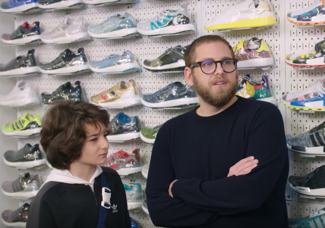 nouveau produit f5d69 c49bc Jonah Hill Sneaker Shopping Stadium Goods | SneakerNews.com