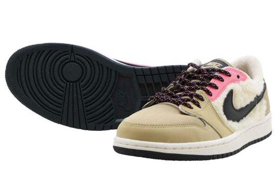 Jordan Brand To Release Air Jordan 1 Lows Padded With Sherpa Fleece