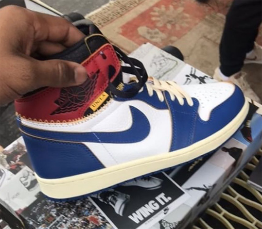 Union LA Secretly Debuted Air Jordan 1 Collaboration At A Flea Market
