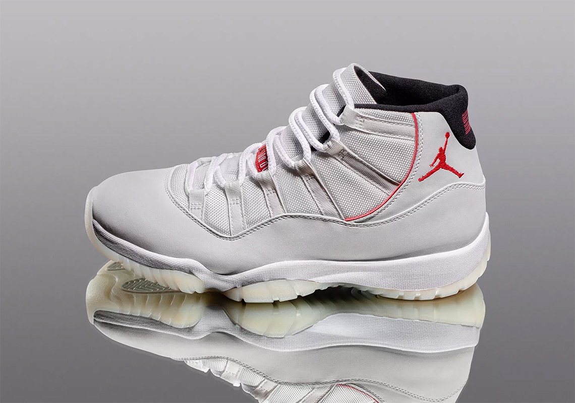 "524b8b9358b Everything You Need To Know About The Air Jordan 11 ""Platinum Tint"""