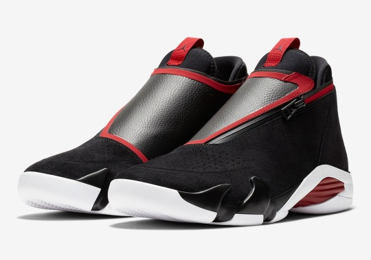 The Jordan Jumpman Z Adds A Zippered Upper To The Air Jordan 14