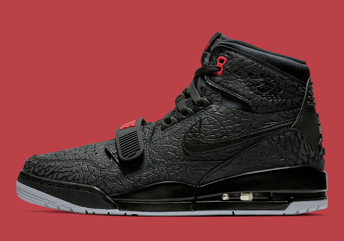 "official photos b837b 06ae7 The Jordan Legacy 312 Gets The ""Flip"" Elephant Print"