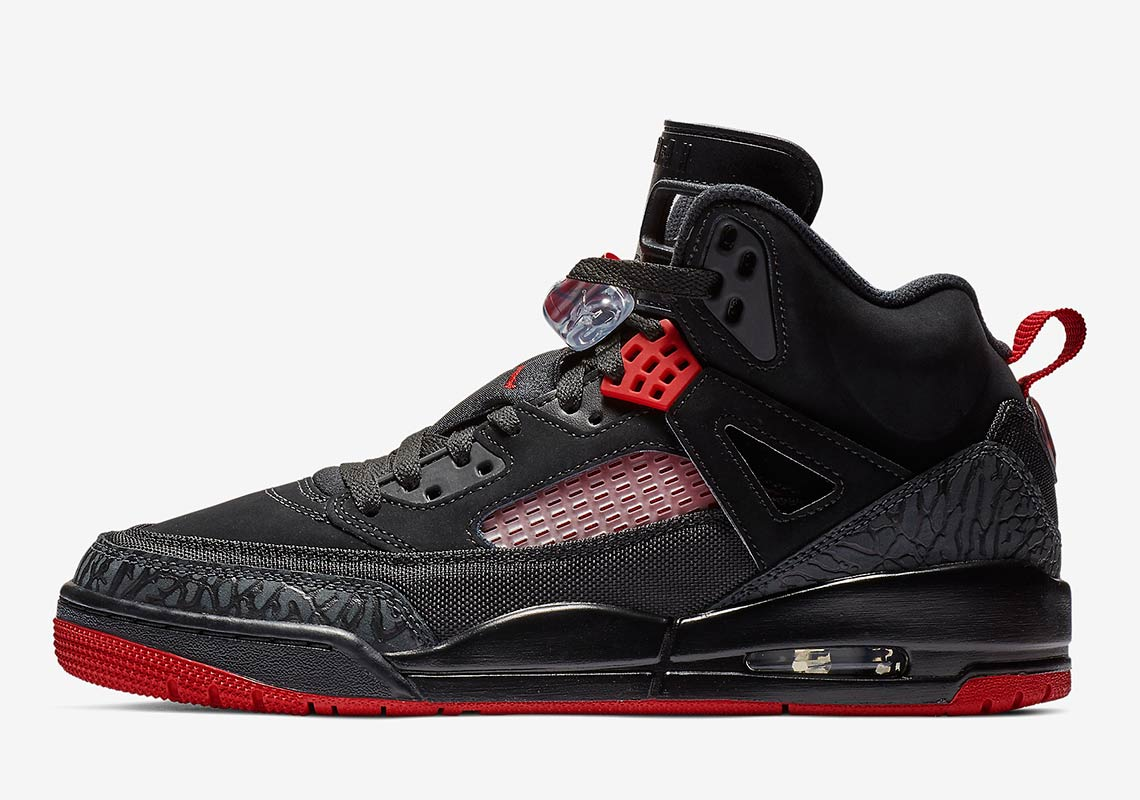 huge discount e486f a38bd ... best a classic black and gym red combo hits the jordan spizike 6e4c3  c38c0