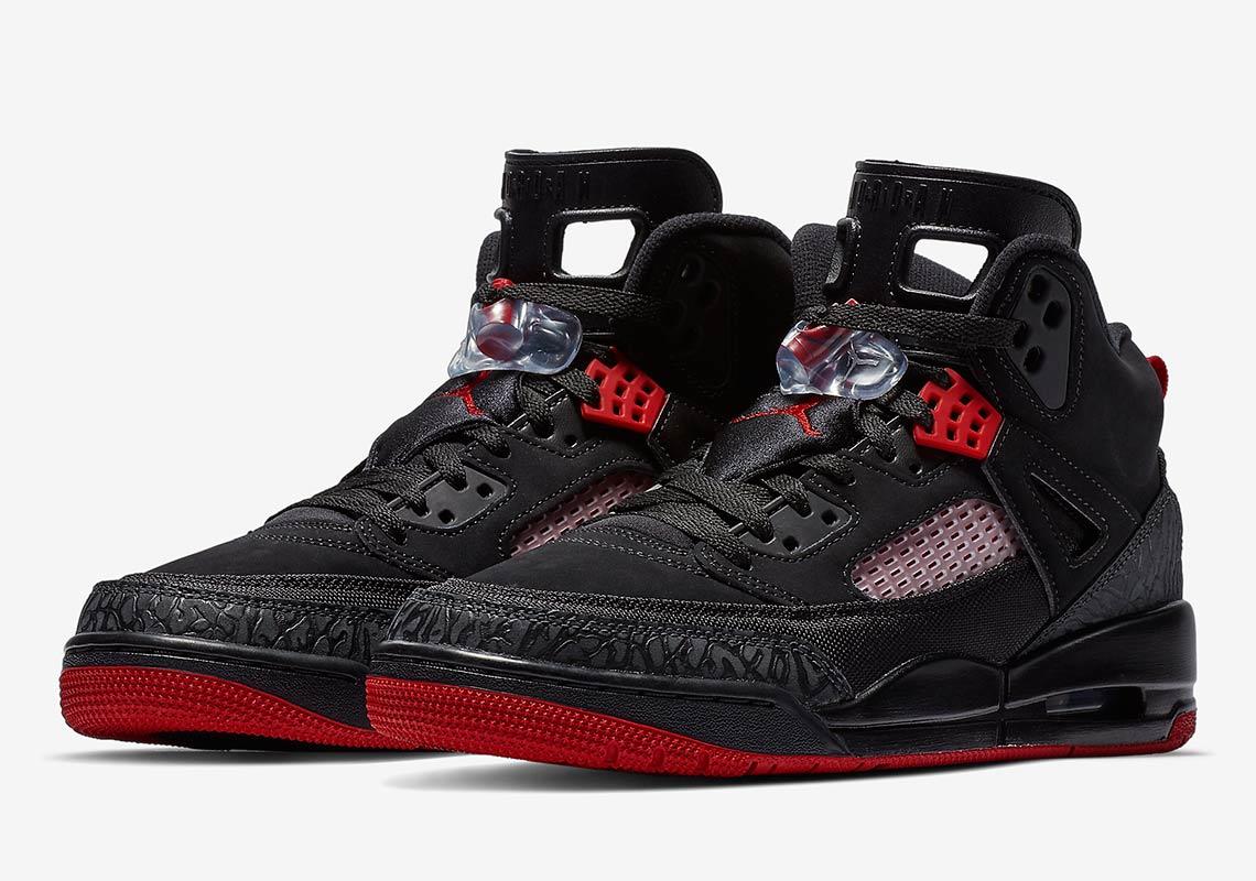 d77fceb9238d Jordan Spiz ike Black + Red 315371-001 Photos