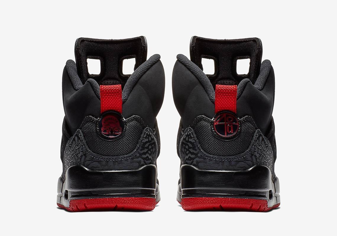 Jordan Spiz'ike Black + Red 315371-001