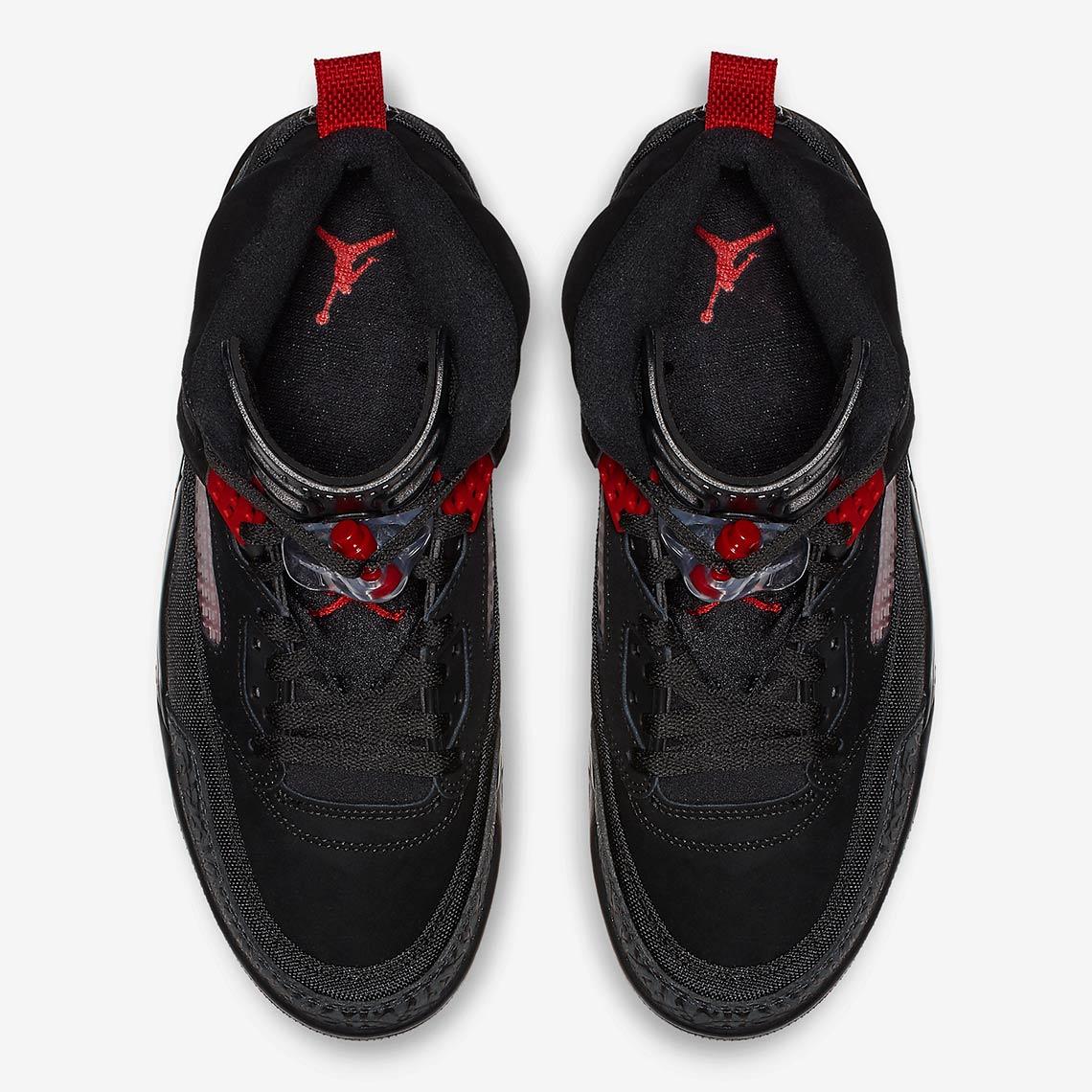 half off 59fc3 dafa1 Jordan Spiz ike Black + Red 315371-001 Photos   SneakerNews.com