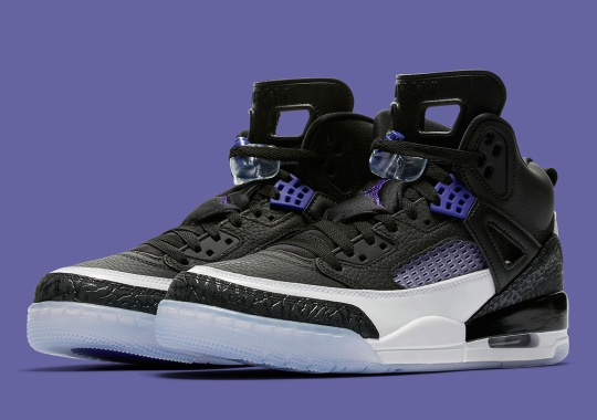 The Jordan Spiz'ike Appears In A Concord Colorway