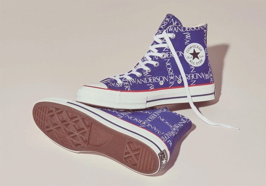 JW Anderson's Logo-Grid Converse Chuck Taylor Releasing In Blue