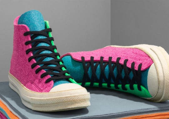 "JW Anderson And Converse Reveal ""Felt"" Chuck Taylor Collaboration"