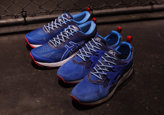 """mita Brings Back Its """"Trico"""" Color Scheme To Celebrate 25th Anniversary Of ASICS GEL-Kayano"""