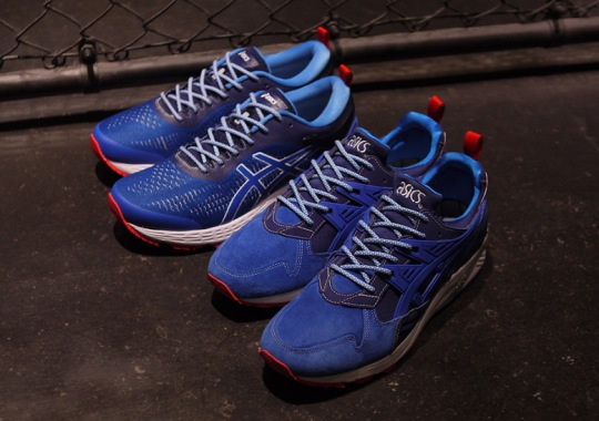 "mita Brings Back Its ""Trico"" Color Scheme To Celebrate 25th Anniversary Of ASICS GEL-Kayano"