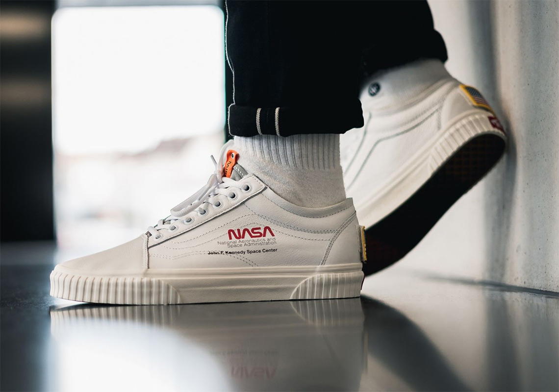 407329765f Where To Buy The NASA Vans Footwear Collection