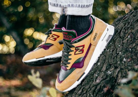 "New Balance 1500 ""Vision"" Blends Fall Season Tones"