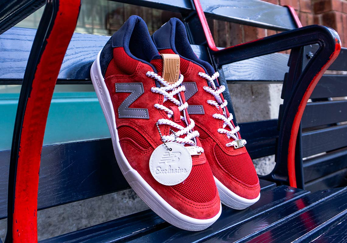 e780ce5890d2c New Balance Celebrates The Boston Red Sox World Series Victory With Limited-Edition  CT300