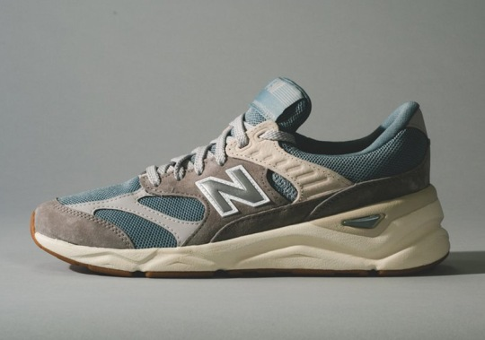 "The New Balance X90 Gets Ready For Fall With A ""Cyclone/Marblehead"" Colorway"