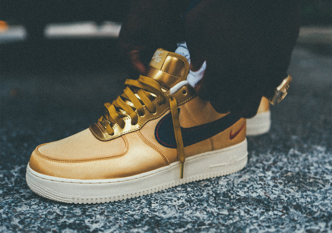6dcb924c09ee Nigel Sylvester x Nike Air Force 1 Low iD. Release Date  October 11