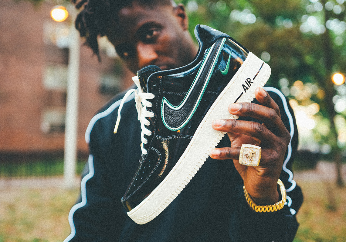 14e9a23b66c5 Nigel Sylvester And Nike Release NYC-Inspired Air Force 1 iD Palette.  October 5