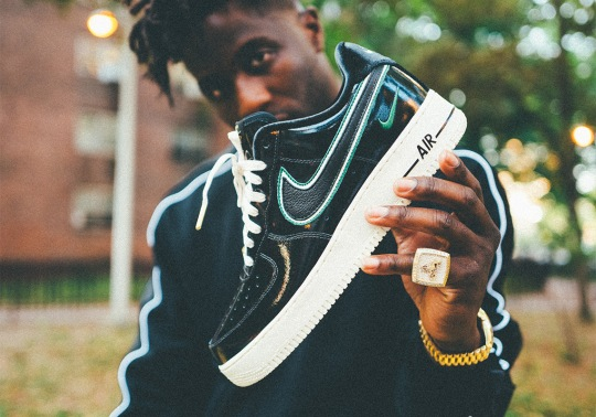 Nigel Sylvester And Nike Release NYC-Inspired Air Force 1 iD Palette