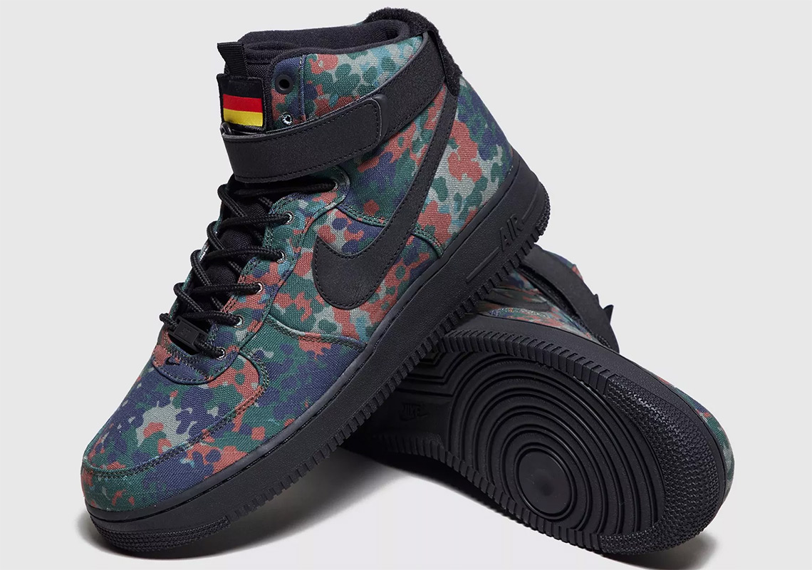 premium selection e6758 5550e Nike Returns To The Country Camo Pack With This Air Force 1 For Germany
