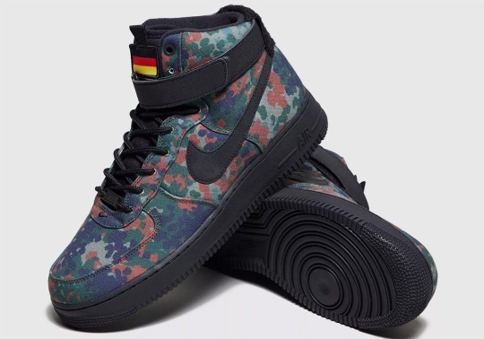 Nike Returns To The Country Camo Pack With This Air Force 1 For Germany