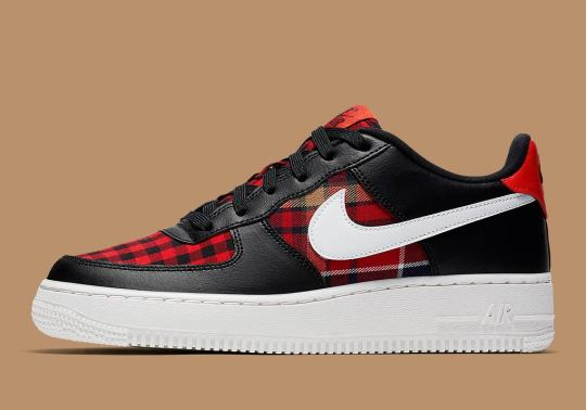 More Flannel Prints Appear On Nike Footwear For The Fall Season
