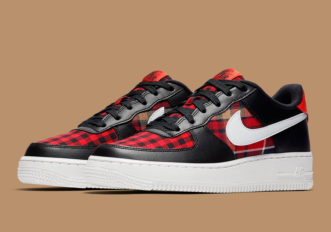 Nike Air Force 1 Low Flannel 849345 004 Release Info