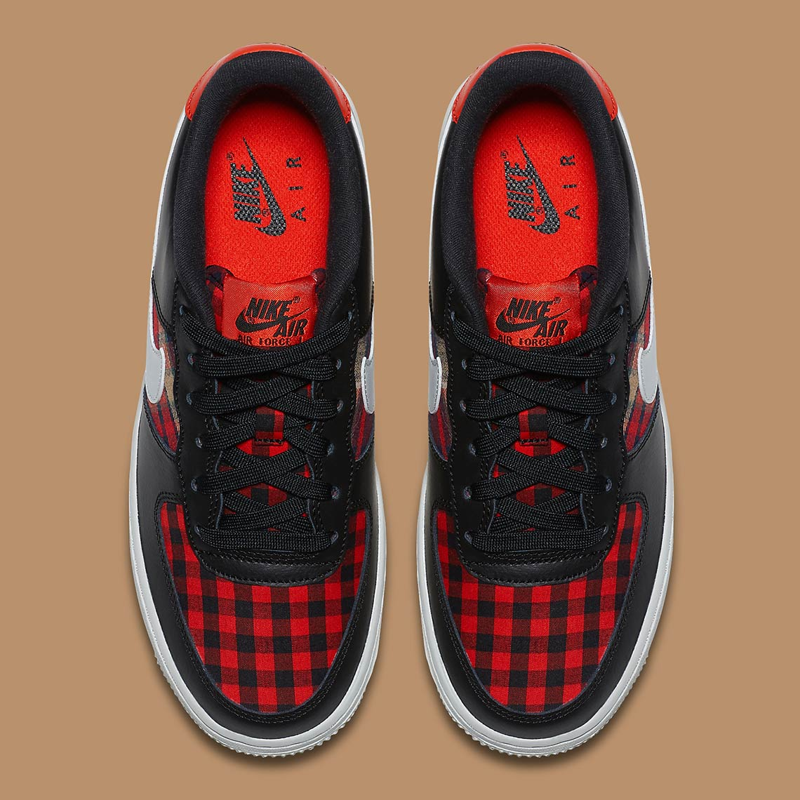 promo code fab3d 114e8 Nike Air Force 1 Low Flannel 849345-004 Release Info  Sneake