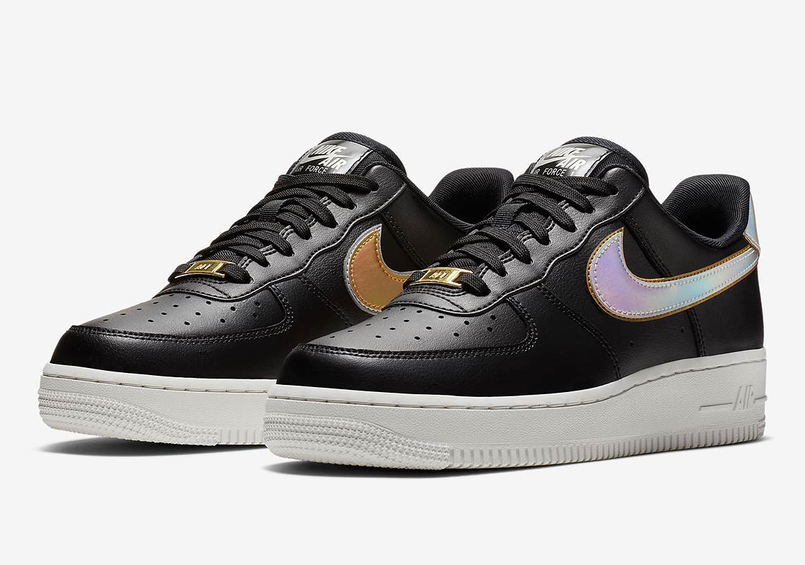 premium selection ef9f1 4d08e Nike Air Force 1 Low Wmns Release Date  November 15, 2018. Color  Vast Grey Metallic  Gold-Summit White