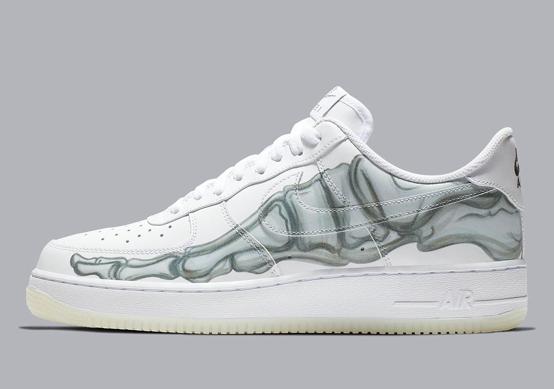 cefea5d230 Nike Air Force 1 Low Skeleton BQ7541-100 Release Info | SneakerNews.com