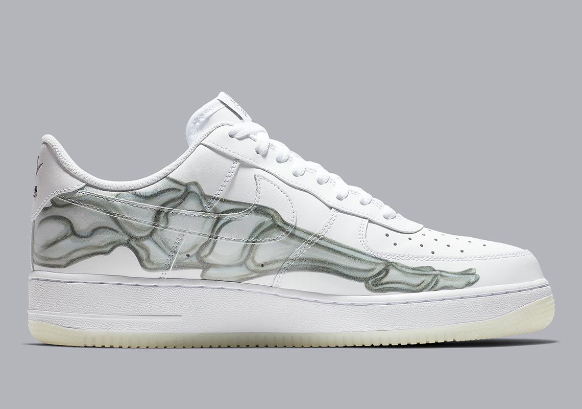 deadd1f1d7a Nike Air Force 1 Low Skeleton BQ7541-100 Store List | SneakerNews.com