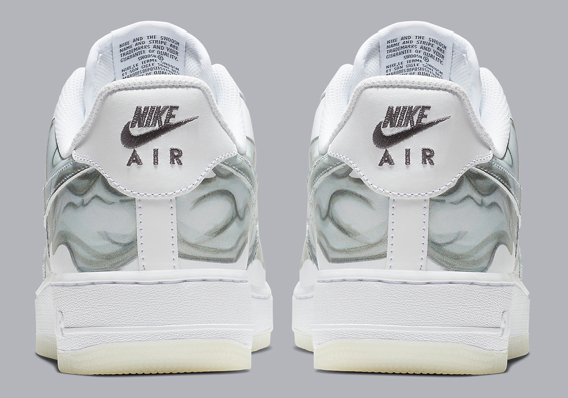 60840f85a2f7 Nike Air Force 1 Low Skeleton BQ7541-100 Release Info
