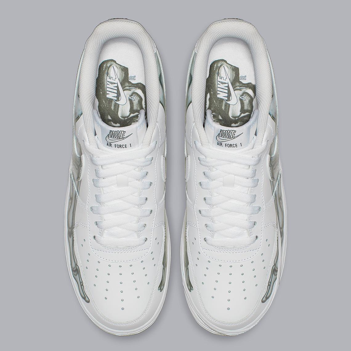 Nike Air Force 1 Low Skeleton BQ7541 100 Store List