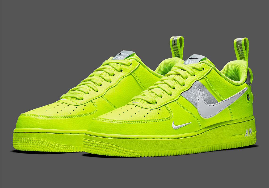 online store 6581c 39f57 The Nike Air Force 1 Utility Arrives In A Bright Volt