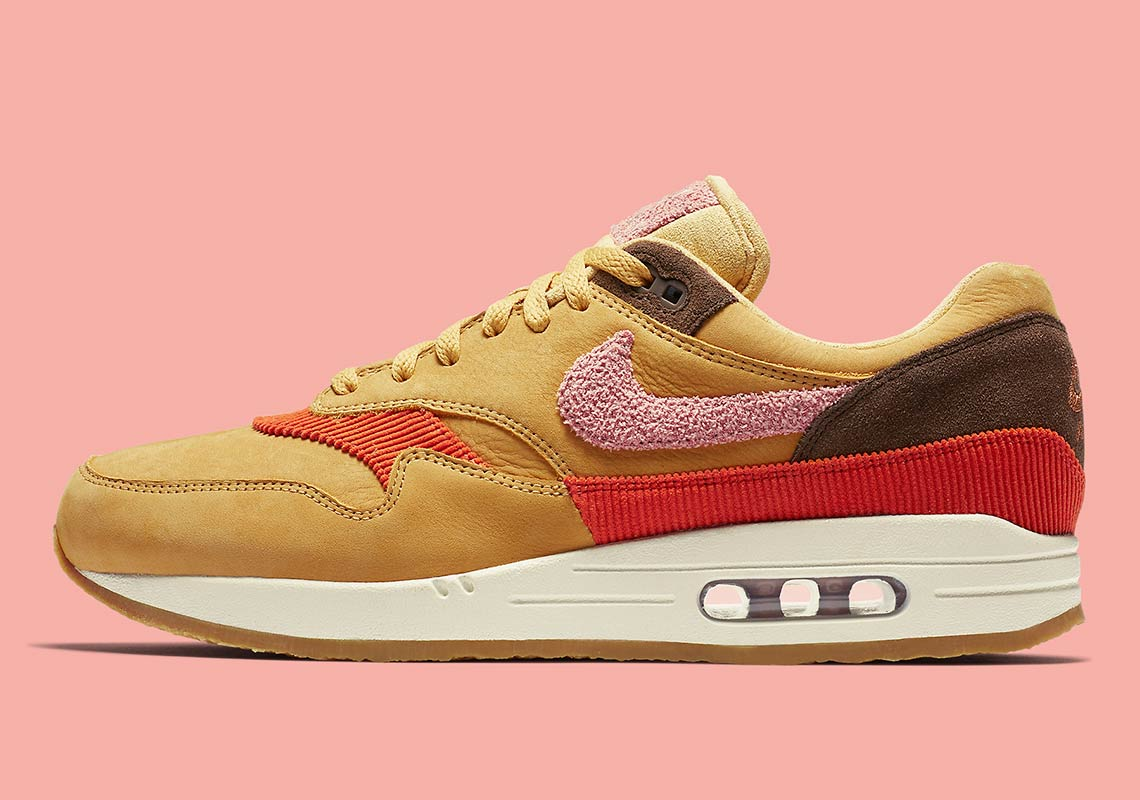 online store 9e4b4 8052b Bacon Themes Arrive On Nike s Upgraded Air Max 1