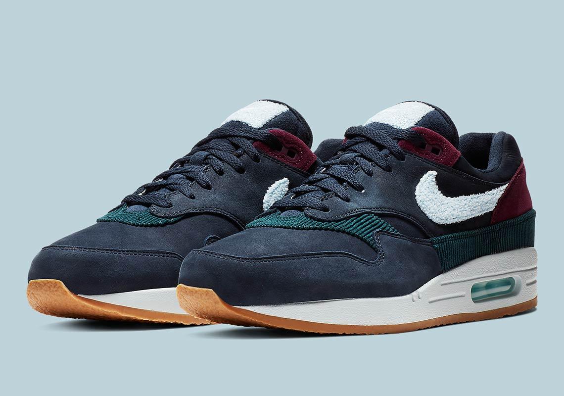 Nike Air Max 1 Crepe Soles CD7861 400 Release Info