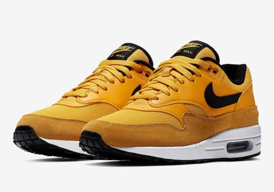 """Nike Air Max 1 """"University Gold"""" Is Available Now"""