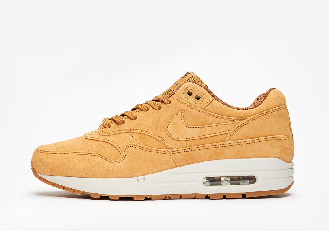 Nike Air Max 1 Wheat 875844-701 Release