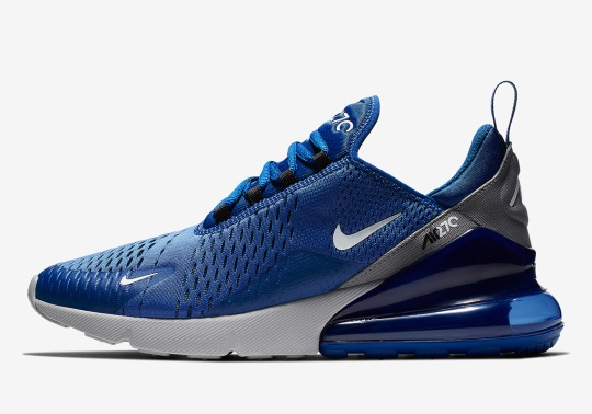 Nike's Air Max 270 Calls Upon Indigo Force For A Refreshing New Colorway