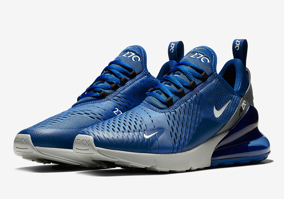 Nike Air Max 270  150. Color  Indigo Force Wolf Grey Cool Grey White 6915f0525