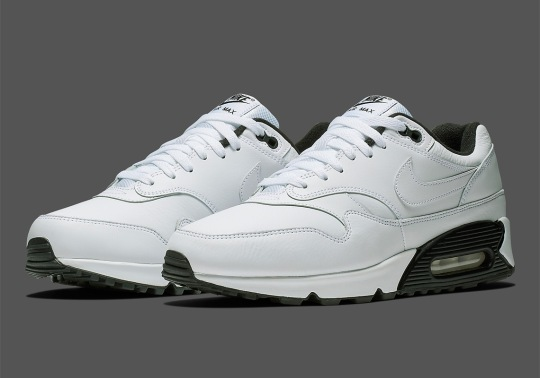 The Nike Air Max 90/1 Is Coming Soon In White And Black