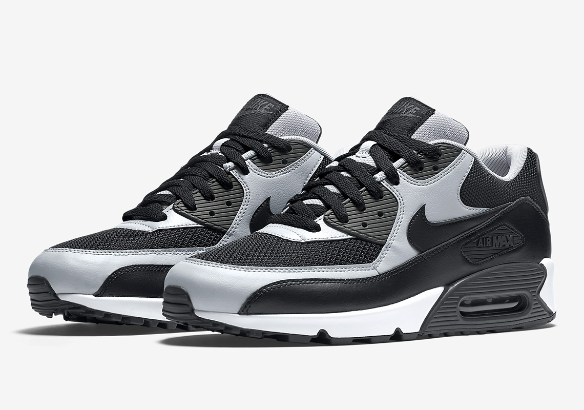 Nike Releases The Air Max 90 Essential In Wolf Grey And Black f48a36b37