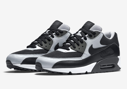 Nike Releases The Air Max 90 Essential In Wolf Grey And Black