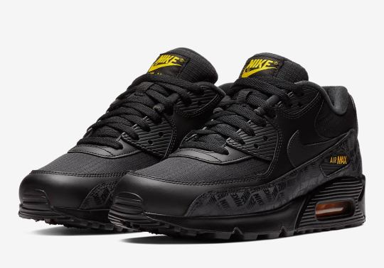 New Prints And Amarillo Accents On This Air Max 90