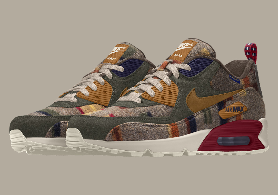 "newest 32410 7f8c2 Nike And Pendleton Debut The ""Painted Hills"" Print For NIKEiD"