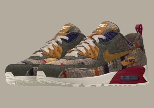 "Nike And Pendleton Debut The ""Painted Hills"" Print For NIKEiD"
