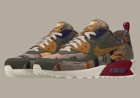 """Nike And Pendleton Debut The """"Painted Hills"""" Print For NIKEiD"""